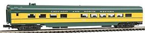 Con-Cor 85 Diner Car Chciago & North Western N Scale Model Train Passenger Car #1407120