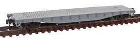 Con-Cor 50 Flatcar with Stakes Undecorated N Scale Model Train Freight Car #14090
