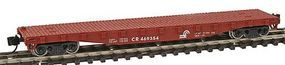 Con-Cor 50 Flatcar with Stakes Conrail N Scale Model Train Freight Car #14093