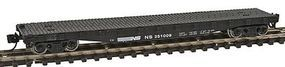 Con-Cor 50 Flatcar with Stakes Norfolk & Western N Scale Model Train Freight Car #14100