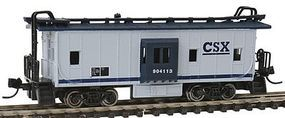 Con-Cor Bay Window Caboose CSX N Scale Model Train Freight Car #14126