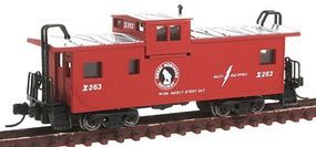 Con-Cor Extended-Vision Caboose GN N Scale Model Train Freight Car #14156