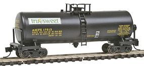 Con-Cor 40 Funnel-Flow Tank Car Tru-Sweet #2 N Scale Model Train Freight Car #14392