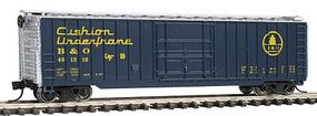 Con-Cor 50 Rib Box Car Baltimore & Ohio Cushion N Scale Model Train Freigt Car #147106