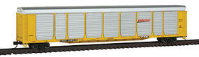 Con-Cor Tri-Level Autorack BNSF#2 N Scale Model Train Freight Car #14742