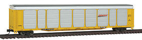 Con-Cor Tri-Level Autorack BNSF#3 N Scale Model Train Freight Car #14743