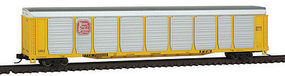 Con-Cor Tri-Level Auto Rack Kansas City Southern N Scale Model Train Freight Car #14749