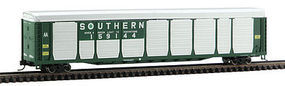 Con-Cor Tri-Level Auto Rack Southern Railway N Scale Model Train Freight Car #14754
