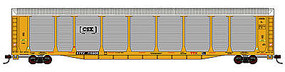 Con-Cor Tri-Level Auto Rack CSX TTGX #715922 N Scale Model Train Freight Car #14757