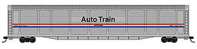 Con-Cor Tri-Level Auto Rack Amtrak #9093 N Scale Model Train Freight Car #14759