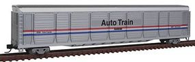 Con-Cor Tri-Level Auto Rack Amtrak #9099 N Scale Model Train Freight Car #14761