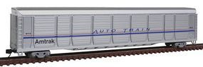 Con-Cor Tri-Level Auto Rack Amtrak #9114 N Scale Model Train Freight Car #14764