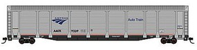 Con-Cor Tri-Level Auto Rack Amtrak #9232 N Scale Model Train Freight Car #14765