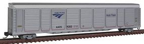 Con-Cor Tri-Level Auto Rack Amtrak #9202 N Scale Model Train Freight Car #14766