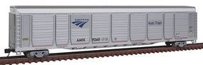 Con-Cor Tri-Level Auto Rack Amtrak #9260 N Scale Model Train Freight Car #14767