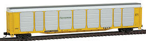 Con-Cor Tri-Level Auto Rack FXE #5 N Scale Model Train Freight Car #14778