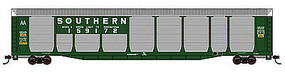 Con-Cor Tri-Level Auto SOU #4 N Scale Model Train Freight Car #14780