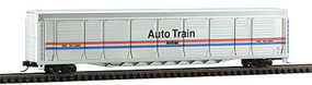 Con-Cor Tri-Level Auto Rack Amtrak III #5 N Scale Model Train Freight Car #14787