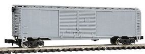 Con-Cor 50 Double Door Auto Box Car Undecorated N Scale Model Train Freight Car #148100
