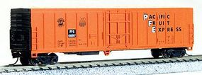 Con-Cor 57 Mechanical Reefer Pacific Fruit Express #1 N Scale Model Train Freight Car #14821