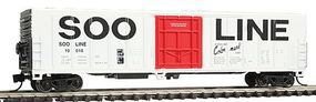 Con-Cor 57' Mechanical Reefer Soo Line N Scale Model Train Freight Car #14827