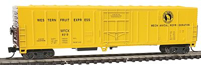 Con-Cor 57' Mechanical Reefer Great Northern -- N Scale Model Train Freight Car -- #14831