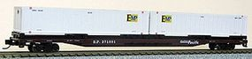 Con-Cor 89 Southern Pacific Flatcar with 2 Containers N Scale Model Train Freight Car #14883