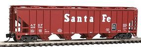 Con-Cor 52 Covered Hopper Santa Fe N Scale Model Train Freight Car #15031