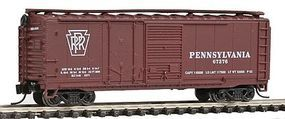 Con-Cor 40' Single Plug Door Box Car Pennsylvania Railroad N Scale Model Train Freight Car #15068