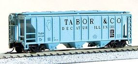Con-Cor 40 PS-2 Covered Hopper Tabor Grain Co. N Scale Model Train Freight Car #15122