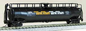 Con-Cor 60 Modern Tank Car Tank Train N Scale Model Train Freight Car #15151