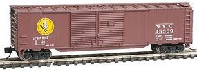 Con-Cor 50 Box Car New York Central Early Bird N Scale Model Train Freight Car #15212