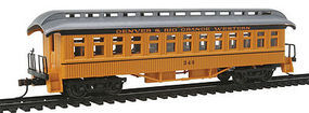 Con-Cor Open Platform Coach DRGW3 HO Scale Model Train Passenger Car #15602