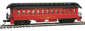 Con-Cor Open Platform Coach Canadian Pacific #132 HO Scale Model Train Passenger Car #15608