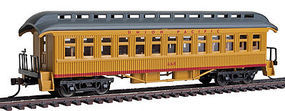 Con-Cor Open Platform Coach UP #668 HO Scale Model Train Passenger Car #15615