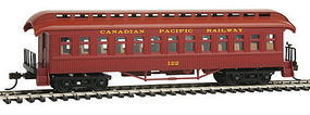 Con-Cor Open Platform Coach Canadian Pacific #122 HO Scale Model Train Passenger Car #15631