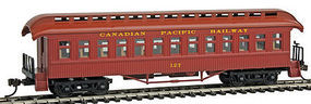 Con-Cor Open Platform Coach Canadian Pacific #127 HO Scale Model Train Passenger Car #15633