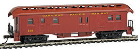 Con-Cor Open Platform Baggage Canadian Pacific 2 HO Scale Model Train Passenger Car #15711