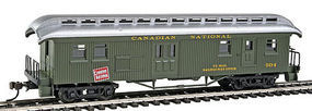 Con-Cor Open Platform Baggage Canadian National 2 HO Scale Model Train Passenger Car #15712