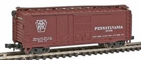 Con-Cor 40 Single Plug Door Box Car Pennsylvania Railroad N Scale Model Train Freight Car #1759