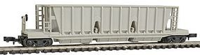 Con-Cor Hopper Longitudial Undecorated N Scale Model Train Freight Car #176100