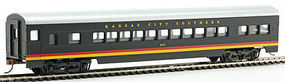 Con-Cor 72 Streamline Coach Kansas City Southern HO Scale Model Train Passenger Car #19005