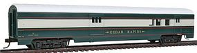 Con-Cor 72 Streamlined Railway Post Office BN Executive Train HO Scale Model Passenger Car #192013