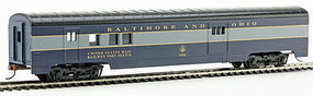 Con-Cor 72 Streamline RPO Baltimore & Ohio HO Scale Model Train Passenger Car #19203