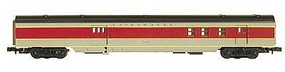 Con-Cor 72 Streamline RPO Lackawanna HO Scale Model Train Passenger Car #19207