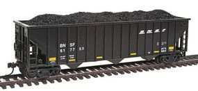 Con-Cor BNSF 100-Ton 15-Panel 3-Bay Hopper HO Scale Model Train Freight Car #19366