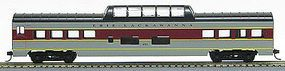 Con-Cor 72 Streamlined Vista Dome Erie Lackawanna HO Scale Model Train Passenger Car #194010