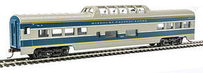 Con-Cor 72 Streamlined Vista Dome Missouri Pacific HO Scale Model Train Passenger Car #194018