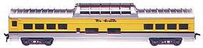Con-Cor 72 Streamline Vista Dome Rio Grande Ski Train HO Scale Model Train Passenger Car #19401