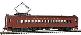 Con-Cor MU Coach Powered Pennsylvania RR PreWar HO Scale Model Train Passenger Car #194511